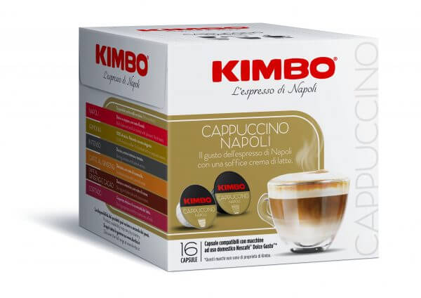 KIMBO Dolce gusto CAPPUCCINO 16pz scaled